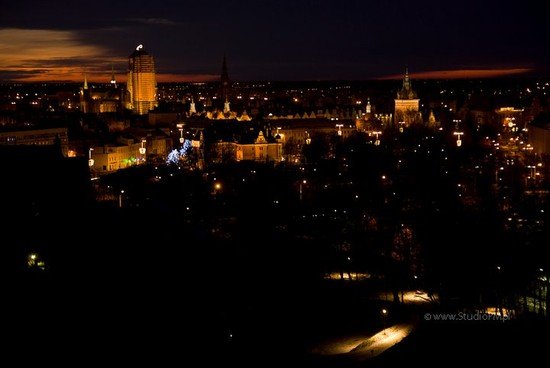 Photo danzica di notte danzica in Gdansk - Pictures and Images of Gdansk - 550x368  - Author: Marcin, photo 11 of 38