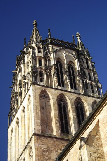 Photo muenster die turmspitze des st-paulus-dom in Mnster - Pictures and Images of Mnster 