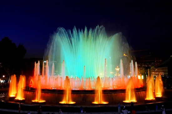 Photo barcelona fonte de montjuic in Barcelona - Pictures and Images of Barcelona 
