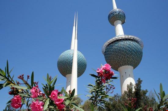 kuwait city aussichts- und wasserturm