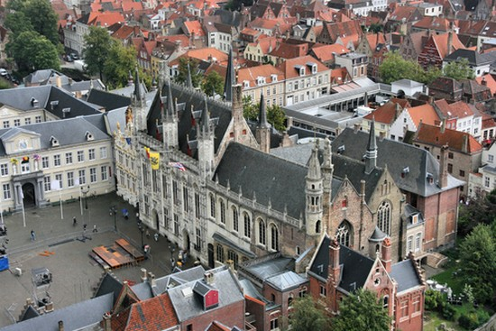 Photo brujas basilica de la santa sangre in Bruges - Pictures and Images of Bruges