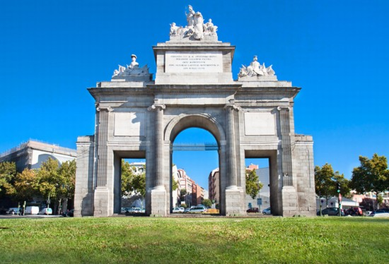 Photo madrid puerta de toledo in madrid pictures and - Puerta de espana ...