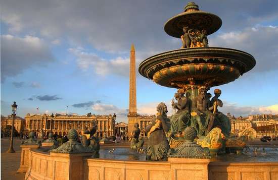 PLACE DE LA CONCORDE a PARIS
