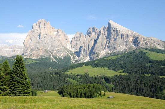 Foto Il Sasso Lungo dall' Alpe di Siusi a Alpe di Siusi - 550x365  - Autore: Roberto, foto 4 di 32