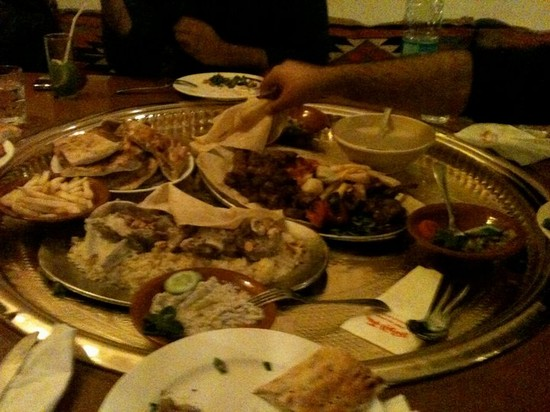 Photo Food - Mensaf in Amman - Pictures and Images of Amman 