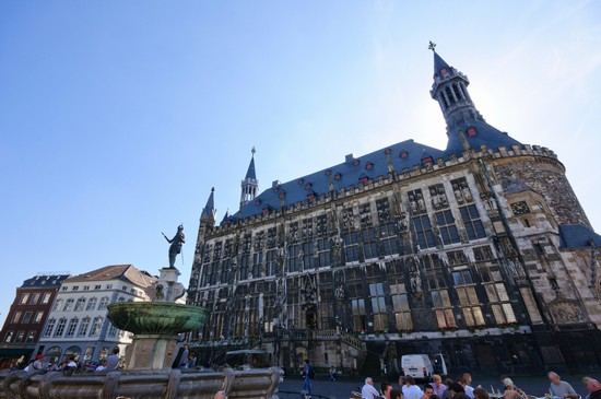 Photo aachen rathaus in Aachen - Pictures and Images of Aachen - 550x365  - Author: Lukas, photo 1 of 14