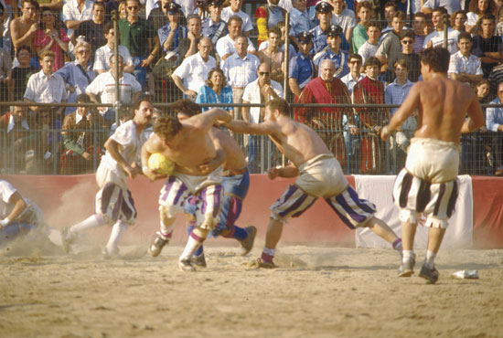 Photo firenze calcio in costume in Florence - Pictures and Images of Florence - 550x370  - Author: Editorial Staff, photo 3 of 554