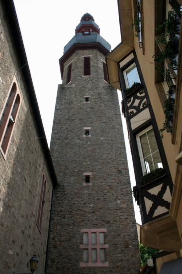 Photo turm des alten rathaus cochem in Cochem - Pictures and Images of Cochem - 366x550  - Author: Björn, photo 3 of 15