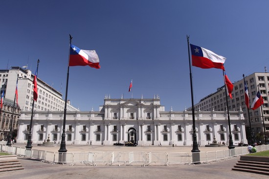 Photo santiago praesidentenpalast la moneda in Santiago - Pictures and Images of Santiago - 550x366  - Author: Anne Und Michael, photo 1 of 31