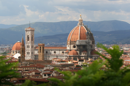 Photo firenze il duomo visto dal piazzale michelangelo in Florence - Pictures and Images of Florence