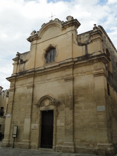 Photo chiesa di san niccolo dei greci lecce in Lecce - Pictures and Images of Lecce - 412x550  - Author: Marco, photo 26 of 91