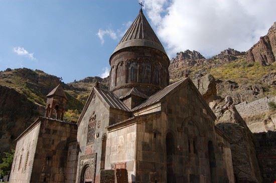 yerevan geghard monastery