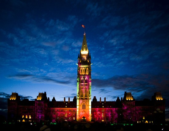 Photo peace tower in Ottawa - Pictures and Images of Ottawa - 550x426  - Author: Editorial Staff, photo 1 of 8