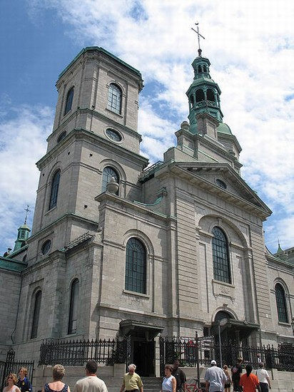 Photo quebec basilique notre dame in Qubec - Pictures and Images of Qubec 