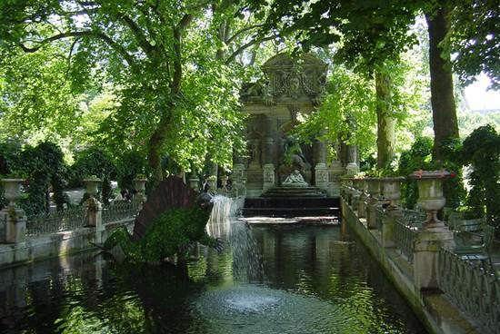 Photo les jardins du luxembourg in paris pictures and for Les jardins de villa paris