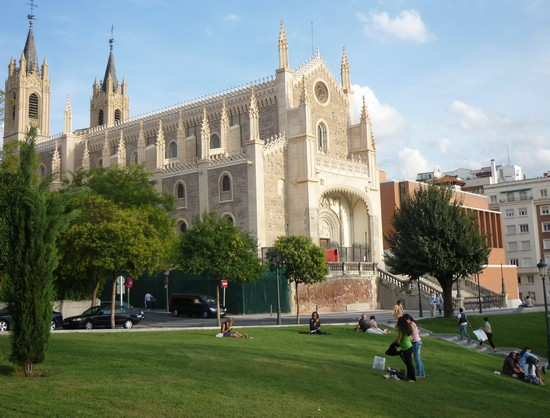 Photo chiesa di san jeronimo el real madrid in Madrid - Pictures and Images of Madrid