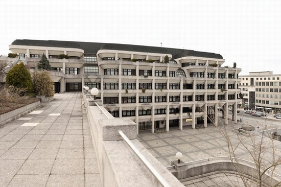 Photo linz neue rathaus in Linz - Pictures and Images of Linz - 550x366  - Author: Anna, photo 1 of 23