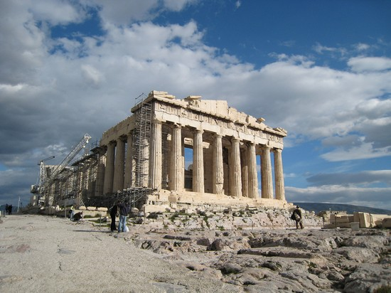 Photo acropolis athens in Athens - Pictures and Images of Athens - 550x412  - Author: Editorial Staff, photo 1 of 215