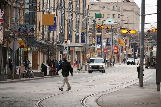 Dundas Street In Toronto