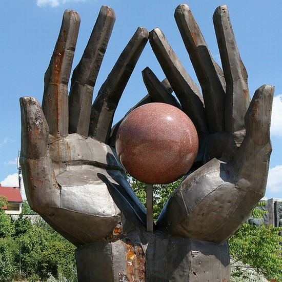 Photo memento park in Budapest - Pictures and Images of Budapest