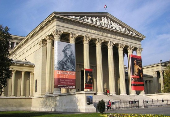 Photo museum of fine arts budapest in Budapest - Pictures and Images of Budapest
