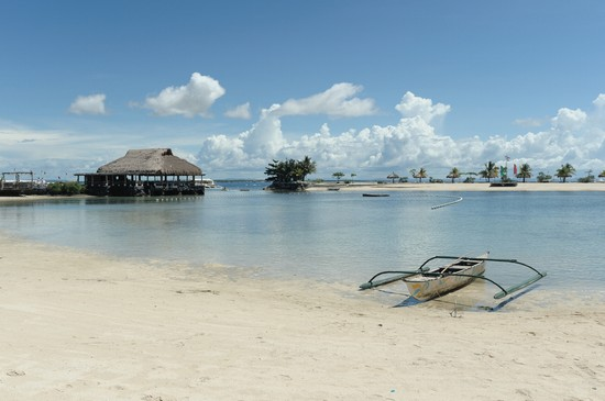 Photo Beach to Sea in Cebu Island - Badian Area - Pictures and Images of Cebu Island - Badian Area 