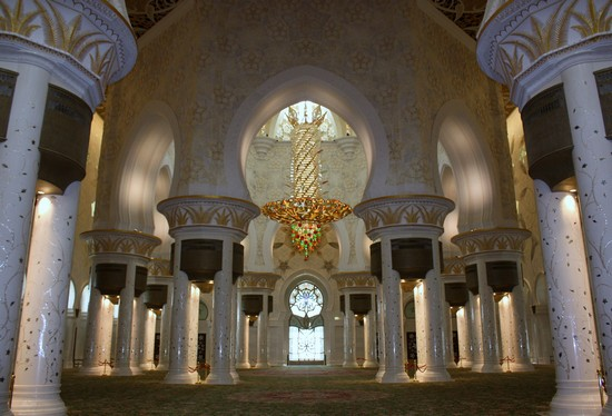 GRAND MOSQUE a ABU DHABI