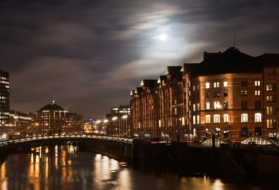 Photo amburgo speicherstadt in Hamburg - Pictures and Images of Hamburg - 550x375  - Author: Editorial Staff, photo 2 of 185