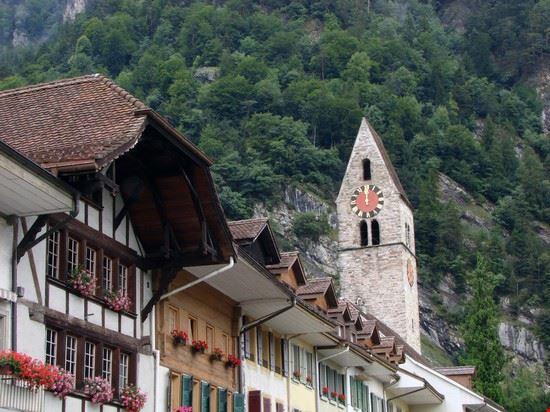 Stadtbild Interlakens