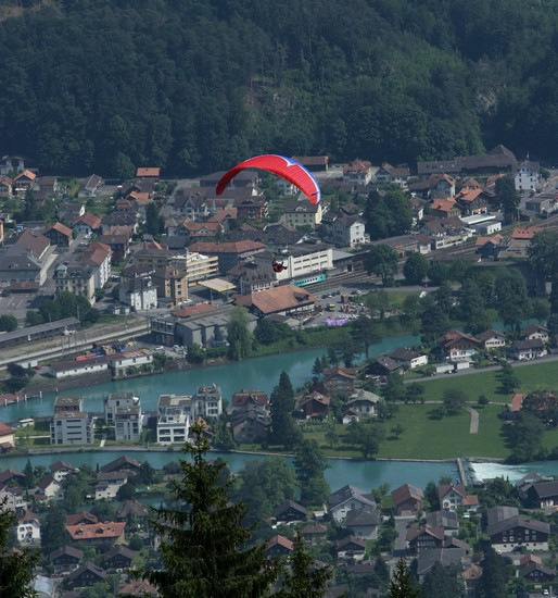 Photo paraglider in interlaken interlaken in Interlaken - Pictures and Images of Interlaken - 514x550  - Author: Martin, photo 6 of 8
