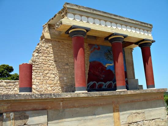 Palazzo di cnosso creta for Planimetrie del palazzo mediterraneo
