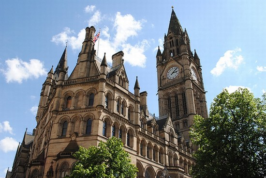 TOWN HALL a MANCHESTER