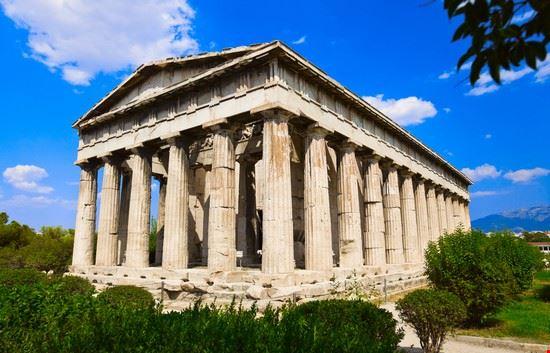 il tempio di efesto