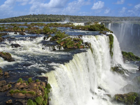 Photo Waterfalls in Foz do Iguaçú - Pictures and Images of Foz do Iguaçú