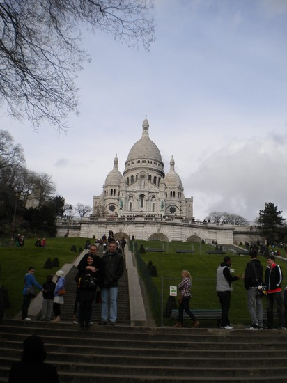 Photo le sacre coeur parigi in Paris - Pictures and Images of Paris - 412x550  - Author: Chiara, photo 8 of 822