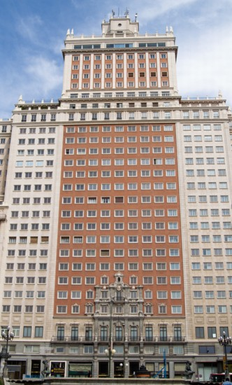 Photo madrid edificio espana in Madrid - Pictures and Images of Madrid