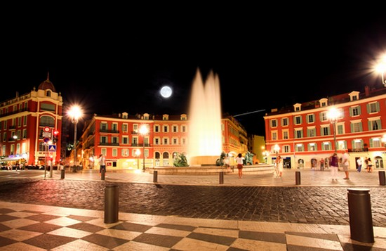 Photo nice place massena a nice in nice pictures and images of nice 550x357 author - Place massena nice ...