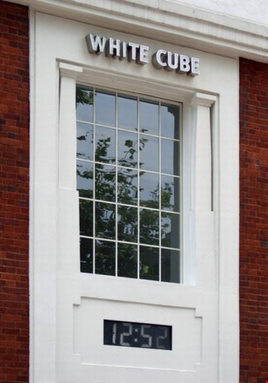 33689 londres white cube dans le quartier de shoreditch