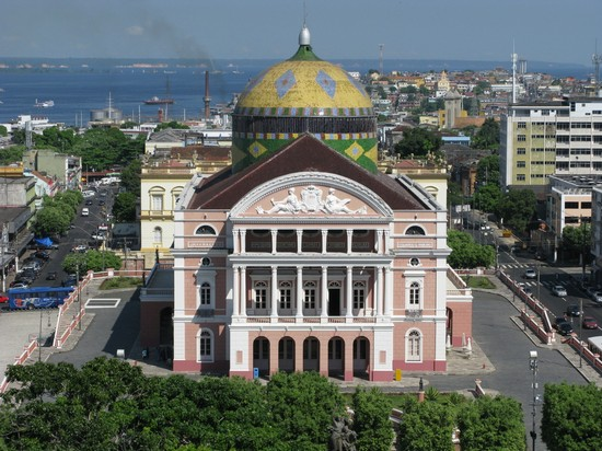 Photo City Center in Manaus - Pictures and Images of Manaus - 550x412  - Author: Editorial Staff, photo 8 of 14