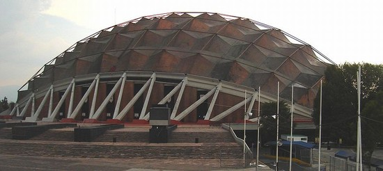 Photo palais des sports, mexico city. in Mexico City - Pictures and Images of Mexico City - 550x246  - Author: Johannes, photo 1 of 35