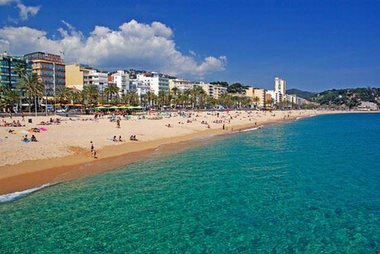 Lloret de Mar en Espagne
