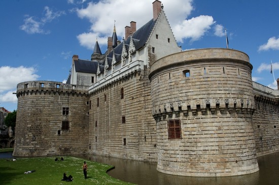 Photo nantes chateau de nantes in Nantes - Pictures and Images of Nantes - 550x366  - Author: Editorial Staff, photo 1 of 56