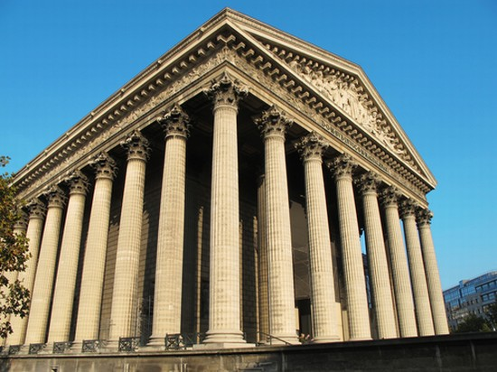 Photo paris eglise de la madeleine paris in Paris - Pictures and Images of Paris - 550x412  - Author: Editorial Staff, photo 2 of 690