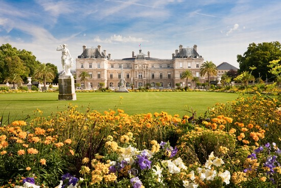 Photo paris jardin du luxembourg a paris in paris for Jardins a visiter a paris