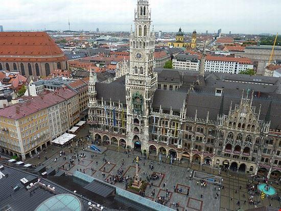 Marienplatz vista dall'alto