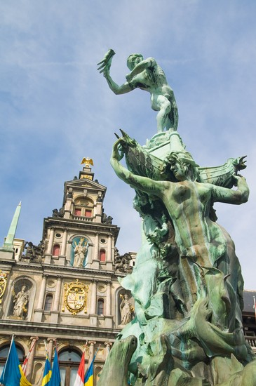 Photo antwerpen brabobrunnen in Antwerp - Pictures and Images of Antwerp