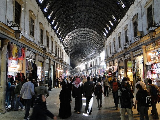 Photo Souq Al-Hamadiyeh in Damascus - Pictures and Images of Damascus