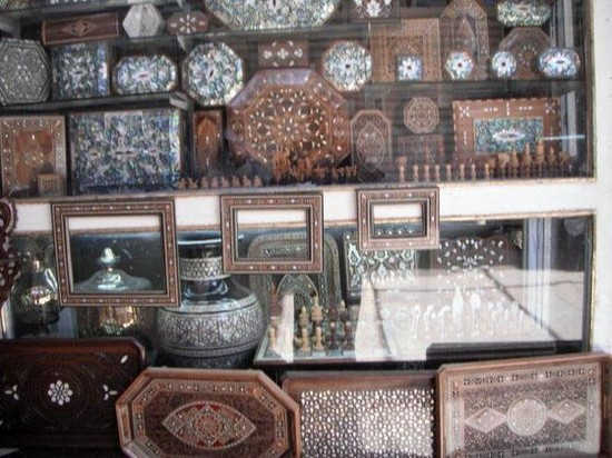 Photo The Tekea Courtyard Handicrafts Market in Damascus - Pictures and Images of Damascus
