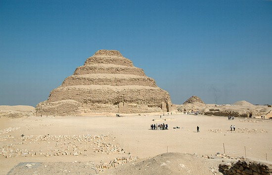 Photo Saqqara (Sakkara) Pyramids in Cairo - Pictures and Images of Cairo - 550x354  - Author: Editorial Staff, photo 1 of 134