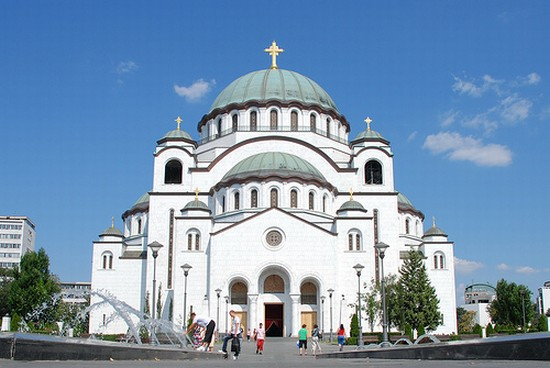 Photo belgrad kathedrale de hl sava in Belgrade - Pictures and Images of Belgrade - 550x368  - Author: Pan, photo 1 of 101